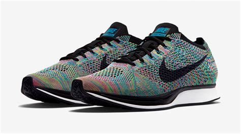 Sepatu Nike Air One Rainbow Sole rainbow nike flyknit racers releasing soon sole collector