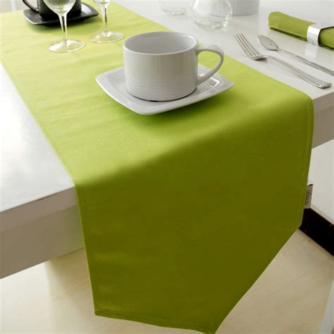 green table runner color green table runner decoration