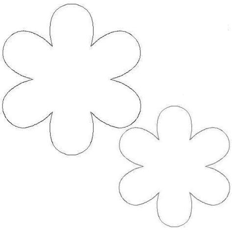 flower cutout card template pics for gt flower cutouts template