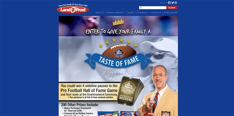 Land O Frost Sweepstakes - sweepstakeslovers daily playstation land o frost amc theatres more