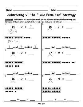 all worksheets » subtraction number bonds to 20 worksheets