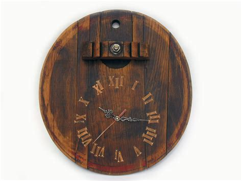 unique wall clocks 17 rustic wall clock unique big wall by thirdcloudtotheleft