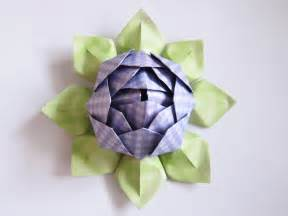 Lotus Oragami Origami Lotus Flower Tutorial Cozy Conspiracy