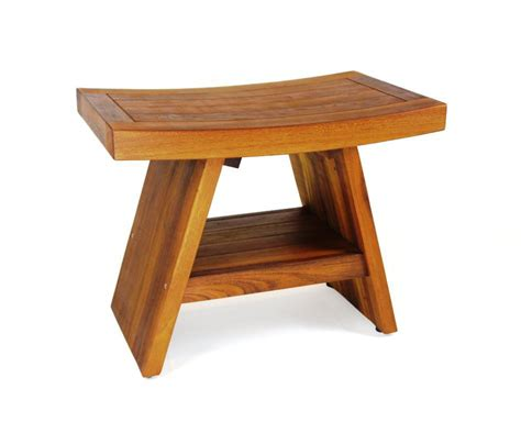 small teak shower bench simple teak corner shower bench the clayton design how