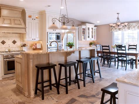 dining room kitchen traditional kitchen with optimal storage cyndi haaz hgtv