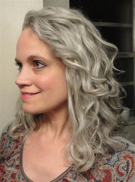 Salt And Pepper Hair With Lilac Tips | salt and pepper hair with lilac tips alfa img showing gt