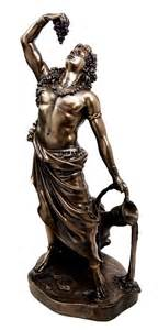 dionysus god statue 11 5 quot tall greek god dionysus bacchus statue wine ecstacy patron figurine ebay