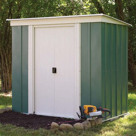 Garden Shed 4 X 3 by 8 4 Quot X 3 11 Ft 2 5 X 1 2m Metal Pent Garden Shed