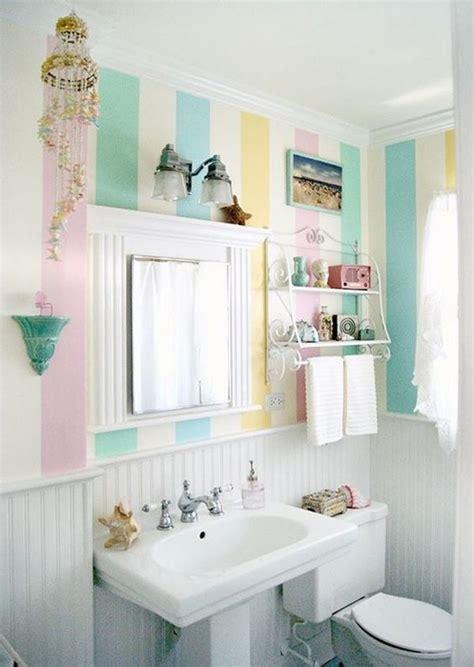 Striped Wallpaper Bathroom Striped Wallpaper Enlivens Any Decor 23 Pics Interior Designs Home