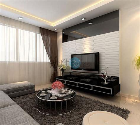 room decorative design 3d pvc wall cladding for living room wall design ideas