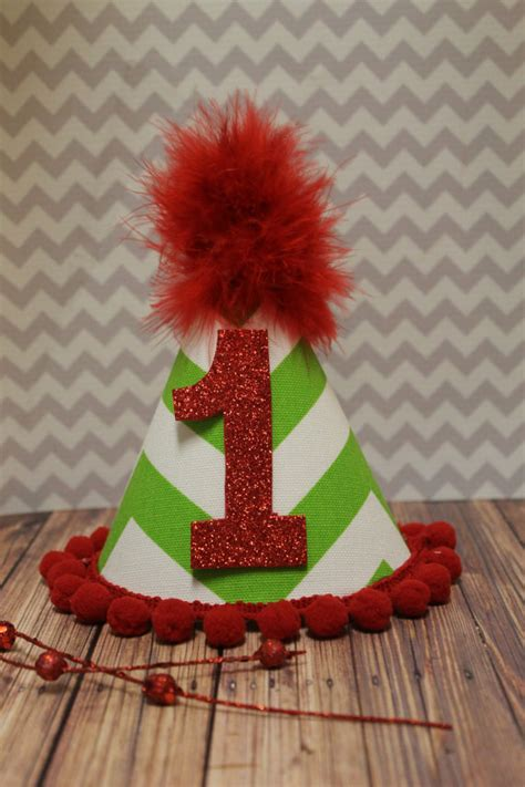 items similar to december baby first birthday hat