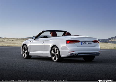 A 5 Audi by Audi A5 Cabriolet Audiworld