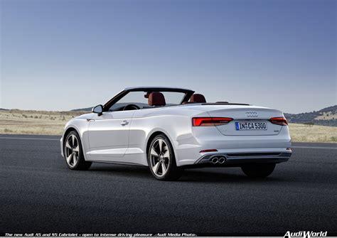 Audi Cabrio Forum by Audi A5 Cabriolet Audiworld