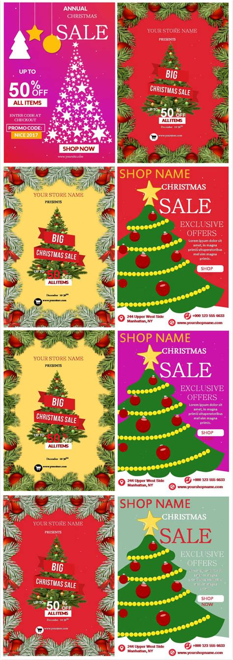 10 ultimate christmas flyer wishes and sales templates