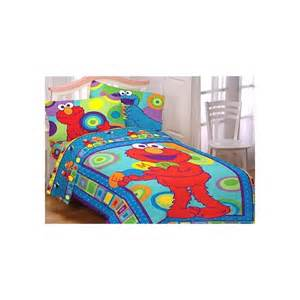 amazon com sesame street elmo cookie monster bedding