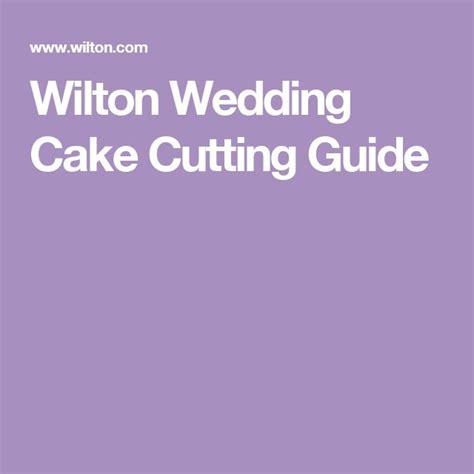 Wedding Cake Cutting Guide by Wilton Wedding Cake Cutting Guide Cake Decorating