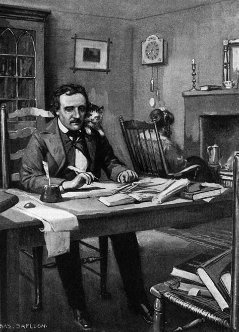 Edgar Allen Poe Essay by Edgar Allan Poe At Work