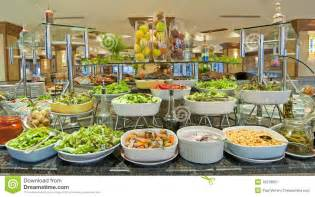 salad buffet in a luxury hotel restaurant royalty free stock photography image 16218007