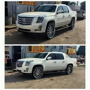 Cadillac Front End For Chevy Truck Cadillac Ext W 2015 Escalade Front End Rides