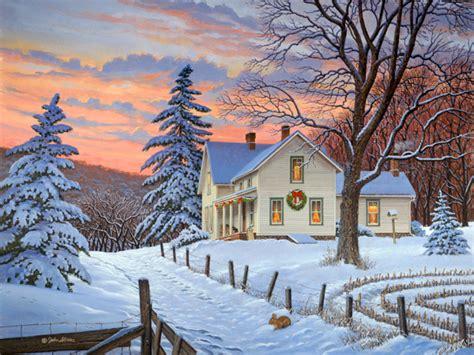 winter haven xmas version john sloane art