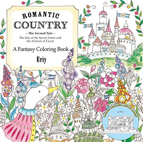 romantic country the second tale a fantasy coloring book import it all