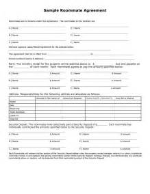Roommate Agreement Template by 40 Free Roommate Agreement Templates Forms Word Pdf