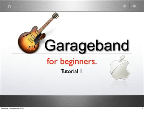c tutorial for beginners pdf garageband for beginners by jwatt547 teaching resources