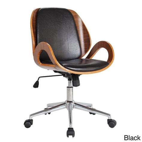 Deak Chair by Rika Stained Bentwood Upholstered Desk Chair