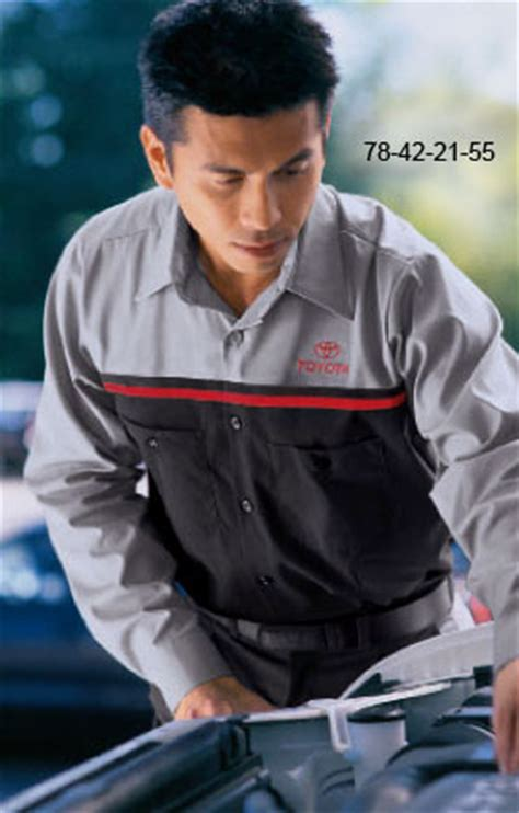 Toyota Technicians Toyota Technician Shirts Prudential Overall Supply