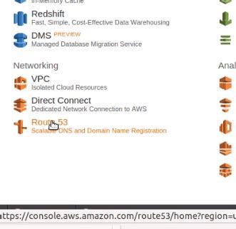 point nameservers  amazon web hosting services