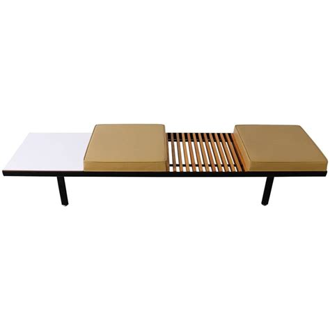 herman miller nelson bench steel contract bench by george nelson for herman miller at
