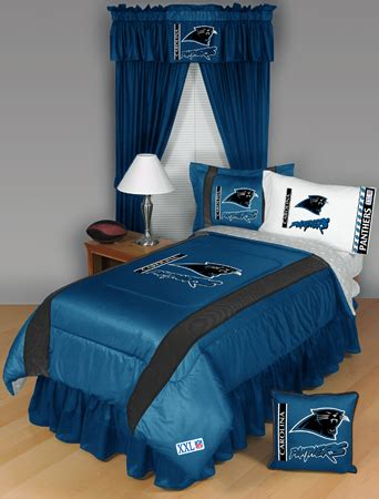 Nfl Carolina Panthers Sidelines Bedding Set