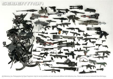 figure guns figure parts lot 2 black accessories guns