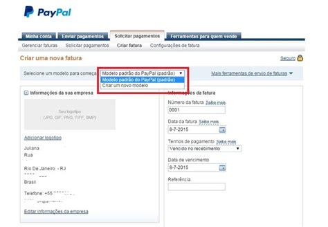 como criar conta no paypal 2015 novo layout do site youtube como emitir faturas online no paypal skybott tech