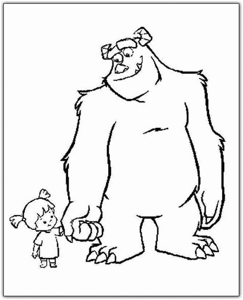 Monsters Inc Coloring Pages Coloringpagesabc Com Monsters Inc Coloring Pages