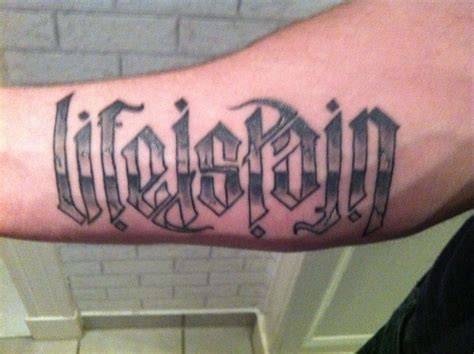 ambigram tattoo design 6 mirror ambigram tattoos jpg ambigram tattoos