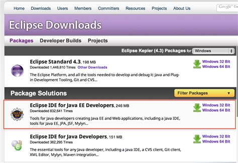 java eclipse full version download eclipse jee
