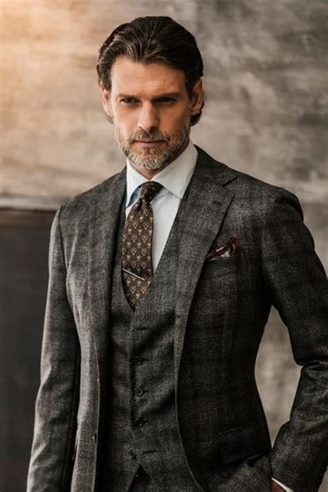 tailored checkered suits men suit fashion