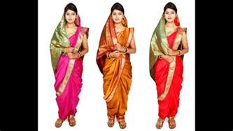 How To Make Saree Draping How To Make And Wear Maharashtrian Readymade Nauvari Saree