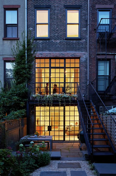 elite home design brooklyn carroll gardens townhouse lang architecture archdaily
