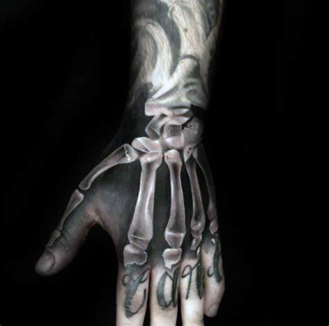 75 mano del esqueleto de dise 241 os de tatuajes para los