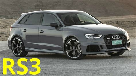 Audi Rs 3 Sportback by 2017 Audi Rs 3 Sportback 400 Hp Engine Sound