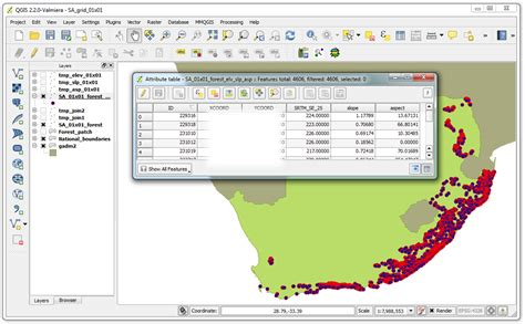 Qgis Tutorial Forestry | qgis open foris