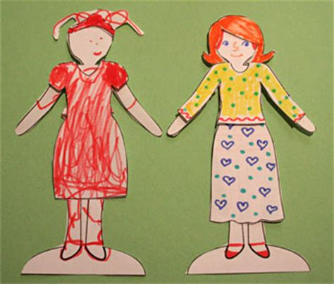 How To Make String Of Paper Dolls - elroy flakes from teri pettit s paperdoll
