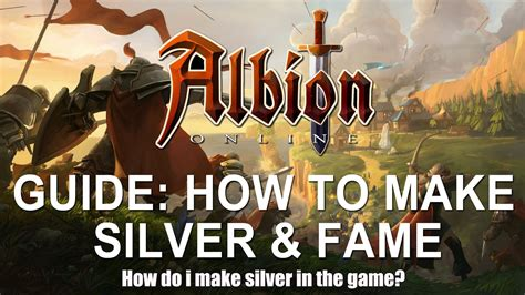 Albion Online Money Making - making silver in albion online albionmall com