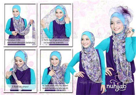tutorial gambar dan video cara model gambar dan video tutorial cara memakai hijab jilbab modern