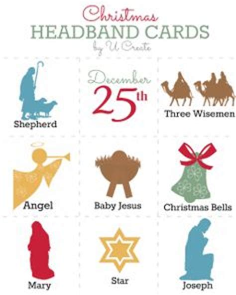 printable alphabet headbands christmas headbands freebie game cards school ideas