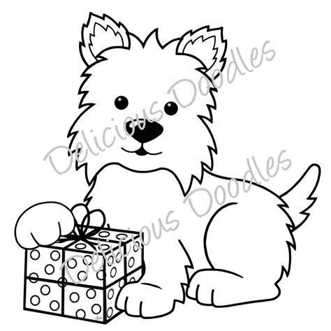 Westie Coloring Pages free coloring pages of westie