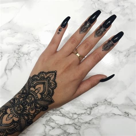 black henna tattoo tumblr henna design