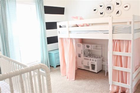 ikea loft bed hacks ikea hack ideas to customize kids beds